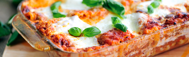 Traditional Italian Herb Lasagna
