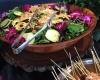 Tropical Hawaiian Salad W/ Cranberry Peppercorn Dressing